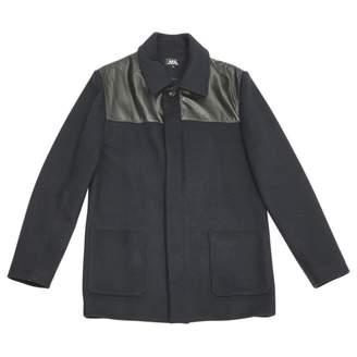 A.P.C. Navy Wool Coats