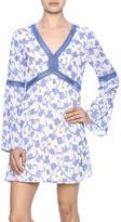 Babel Fair Vine Bell Sleeve Dress