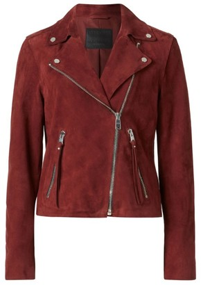 AllSaints Leather Dalby Biker Jacket