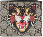 Gucci Angry Cat Gg Supreme Classic Wallet