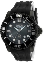 Invicta Men's 20206 Pro Diver Automatic 3 Hand Charcoal Dial Strap Watch - Charcoal