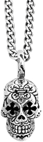 King Baby Studio Day of the Dead Skull Pendant Necklace
