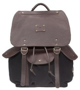 Will Leather Goods Men's 'Lennon' Backpack - Black