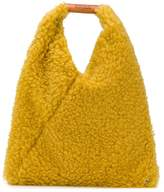 MM6 MAISON MARGIELA small faux shearling tote