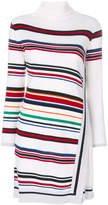 Iceberg striped knitted dress