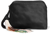 The Row Wristlet Silk-satin Clutch - Black