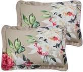 Dorma Henrietta 100% Cotton 300 Thread Count Oxford Pillowcase Pair