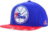adidas Philadelphia 76ers City Pulse Snapback Cap