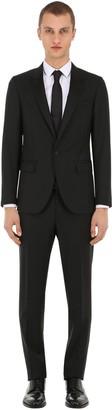 Lanvin Wool Grain De Poudre Tuxedo