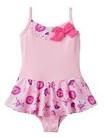 Jacques Moret Toddler Girl Glitter Ballerina Cami Skirtall Leotard