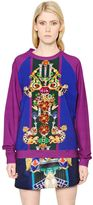 Mary Katrantzou Corona Printed Heavy Cotton Sweatshirt