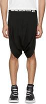 Niløs Black Logo Shorts