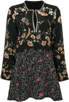 Etro floral tunic blouse