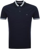 Calvin Klein Pobas Polo T Shirt Navy