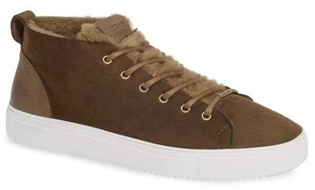 56a6ee41d3c QL48 Genuine Shearling Lined High Top Sneaker (Women)