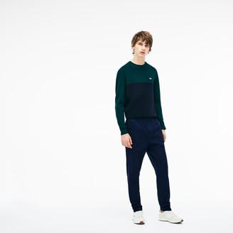 Lacoste Men's Slim Fit Elasticized Cotton Twill Chino Pants