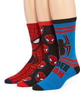 Marvel Spiderman 3-pk. Crew Socks