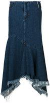 Marques Almeida Marques'almeida asymmetric flared skirt