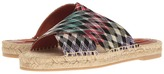 Missoni Cross Band Espadrille Slide Women's Shoes