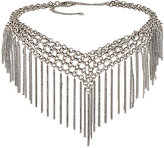 Jules Smith Designs WOMEN'S FRINGE CHOKER-SILVER