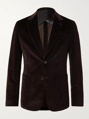 Paul Smith Slim-Fit Unstructured Stretch-Cotton Corduroy Suit Jacket