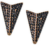 PeepToe Beaux and Arrows Earrings Jet