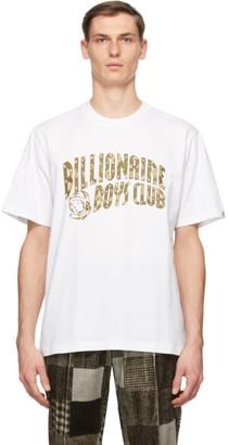 Billionaire Boys Club White Arch Logo T-Shirt