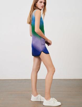 Maje Sleeveless lurex knit dress
