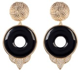House Of Harlow Drop Rostron Stone Statement Earrings