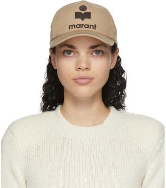 Isabel Marant Beige Tyron Cap
