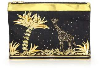 Charlotte Olympia Ari Adventurous Embellished Pouch
