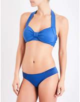 Seafolly Ladies White Goddess Halterneck Bikini Top