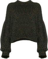 Isabel Marant Arty oversized lurex jumper