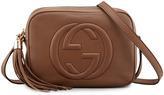 Gucci Soho Leather Disco Bag, Brown