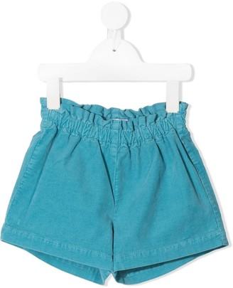 Il Gufo Corduroy Paperbag Waist Shorts