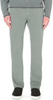 Armani Collezioni Regular-fit cotton-twill trousers