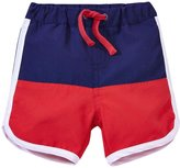 Egg by Susan Lazar Color Block Swim Shorts (Baby) - Navy - 24 Months