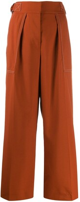 Marni Side Belts Trousers