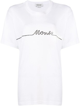 Monse small rope print T-shirt
