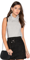 Central Park West Vienna Cashmere Sleeveless Sweater