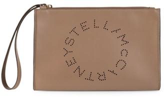Stella McCartney Small Stella Logo Wristlet