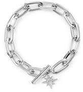 Rebecca Minkoff Sign Link Toggle Bracelet