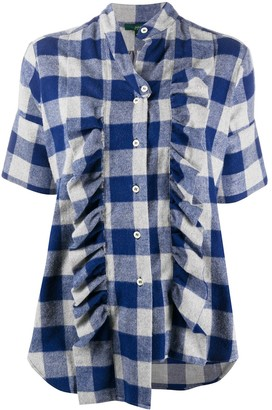 Jejia Plaid Print Shirt