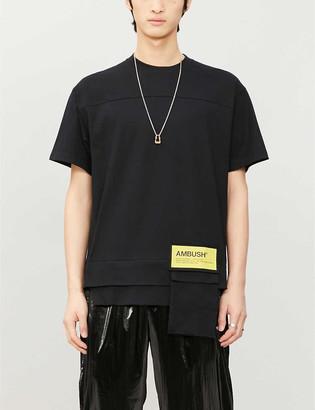 Ambush Waist pocket cotton-jersey T-shirt