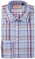 Thomas Pink Kessel Slim Fit Plaid Dress Shirt