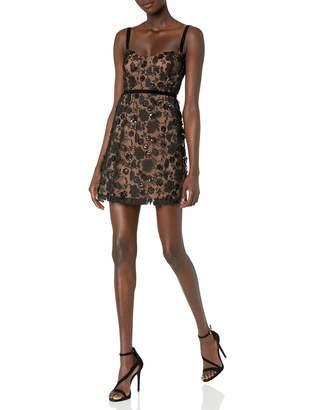 For Love & Lemons Women's Beatrice Strappy Mini Dress