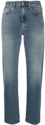 Totême High-Waisted Straight Leg Jeans
