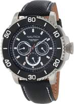 Nautica Men's N17602G NST 501 Classic Stainless Steel Watch