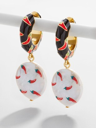 BaubleBar Sardana Pearl Drop Earrings