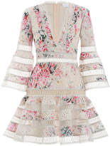 Zimmermann Laelia Diamond Flutter Dress